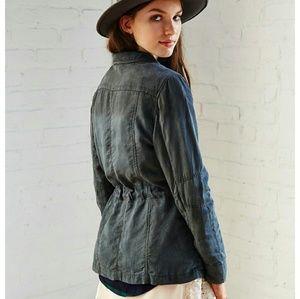 Lacausa Anthropologie Surplus Weathered Jacket XS